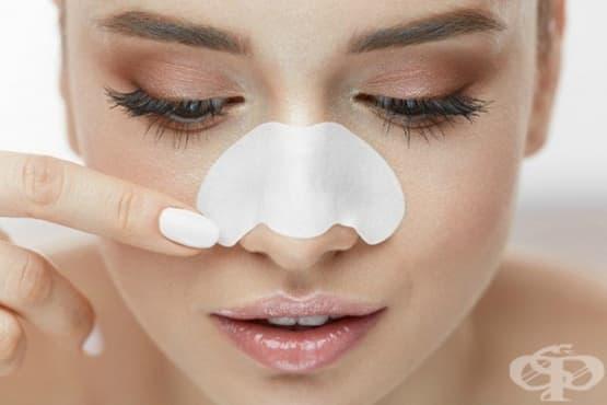 Почистете черните точки с 3 вида домашни ленти за носа - изображение