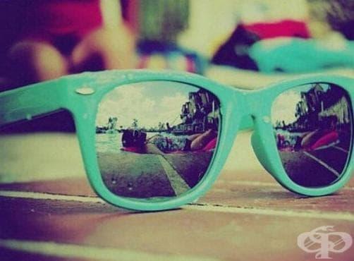 Носете слънчеви очила през цялата година - изображение