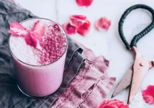 Облекчете безсънието с мляко от роза, шизандра и ашваганда - изображение