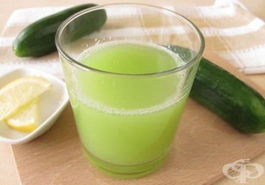 Облекчете цистита с напитка от краставица и лимон - изображение
