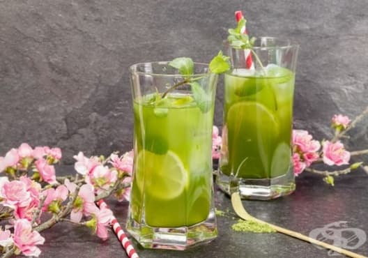 Облекчете синузита със зелен чай, джинджифил и лимон - изображение