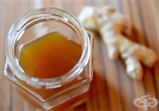 Облекчете кашлицата с мед и джинджифил - изображение