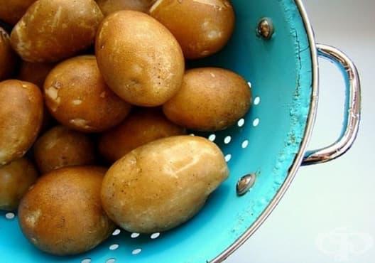 Облекчете кървящите венци с картофено пюре - изображение