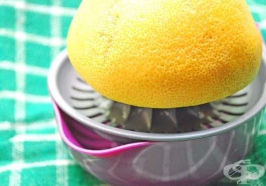 Облекчете мигрената с напитка от грозде и цитрусови плодове - изображение