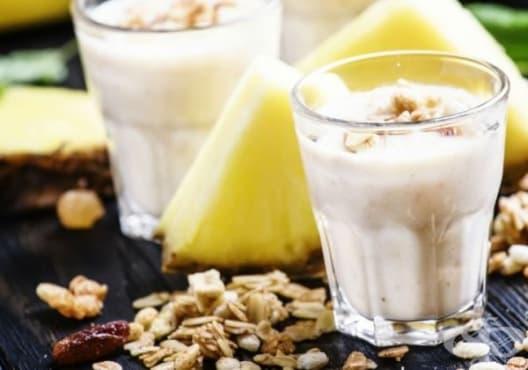 Облекчете ставните болки с напитка от ананас, портокал и овесени ядки - изображение