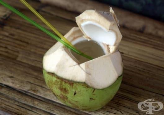 Облекчете стреса и напрежението с кокосова вода - изображение