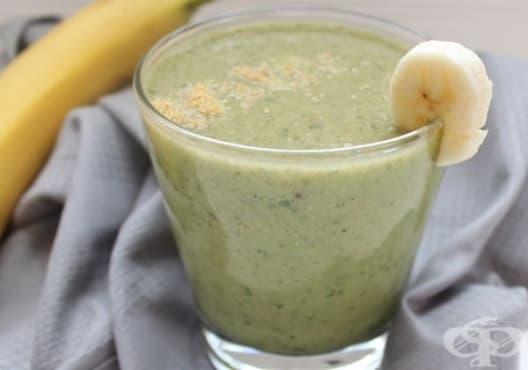 Облекчете стреса с напитка от банан, авокадо и ленено семе - изображение
