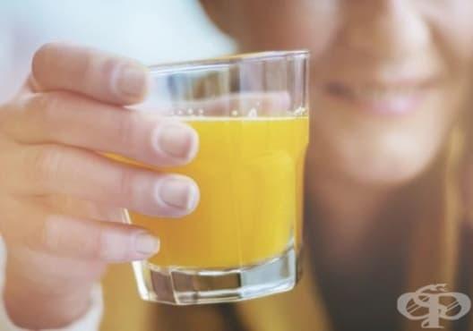 Облекчете стреса със сок от портокал - изображение