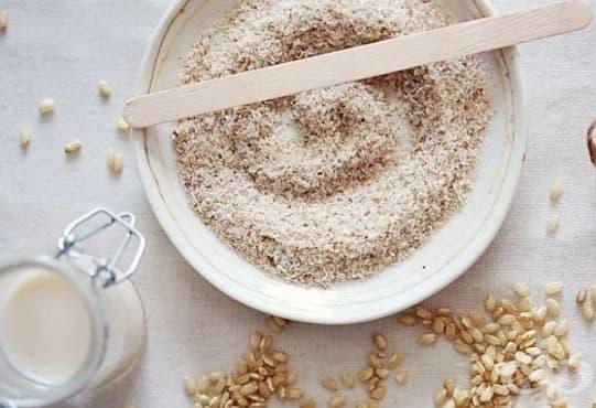 Направете си оризова маска за сияйна кожа - изображение