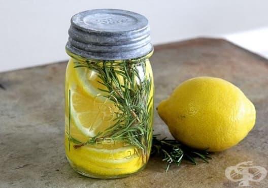 Освежете дома с ароматизатор от лимон, розмарин и ванилия - изображение