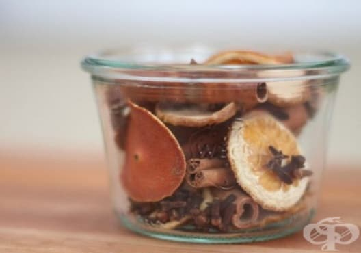 Освежете дома си с ароматизатор от портокал, карамфил и анасон - изображение