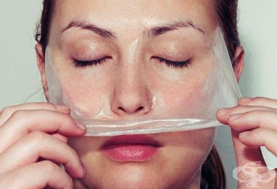 Отстранете черните точки по лицето с домашна маска от желатин и прясно мляко - изображение