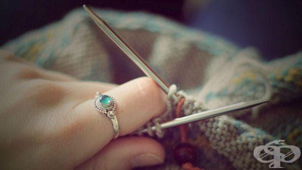 Прогонете стреса и депресията с плетене - изображение