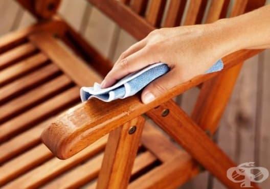 Почистете дървените мебели с оцет, лимон и зехтин - изображение