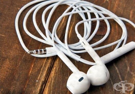 Почистете кабелите на слушалките с гумичка - изображение