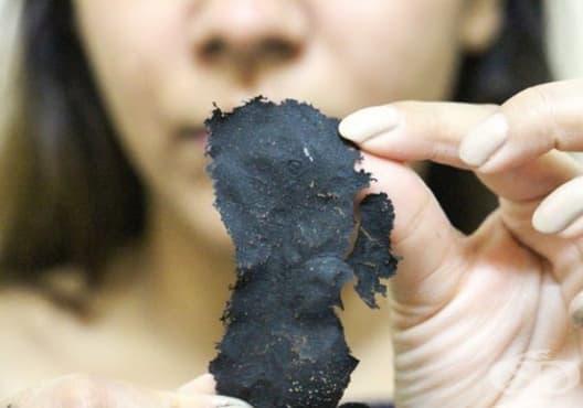 Почистете порите с маска от алое и активен въглен - изображение