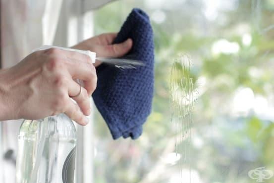 Почистете прозорците с препарат от маточина и оцет - изображение