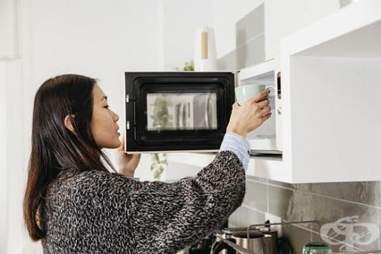 Почистете микровълновата печка с портокал и лимон - изображение