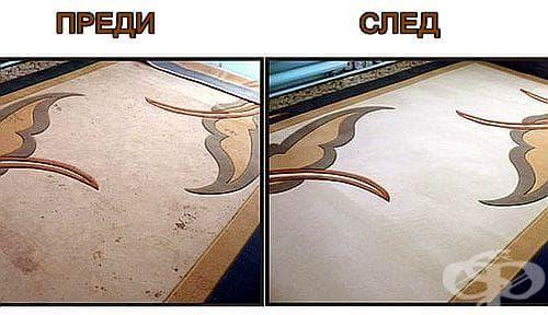 Направете си домашен препарат за почистване на килима - изображение