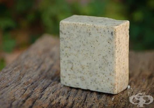 Подхранете кожата с ментов сапун - изображение