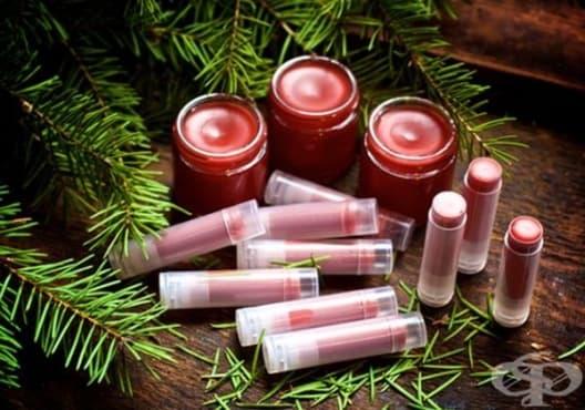 Подхранете устните с балсам от борови иглички - изображение