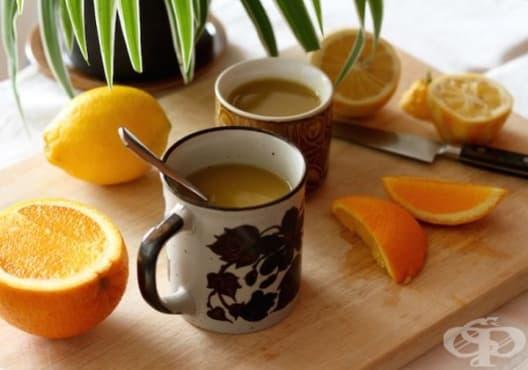 Подобрете храносмилането с чай от портокал, куркума и джинджифил - изображение