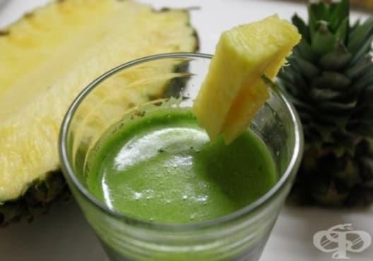 Подобрете храносмилането с напитка от ананас, копър и целина - изображение