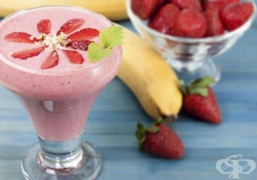 Подобрете паметта с напитка от ягоди, банан и бирена мая - изображение