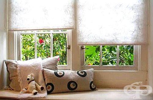 Покрийте прозорците с хартия, за да влиза светлина, но не и топлина - изображение