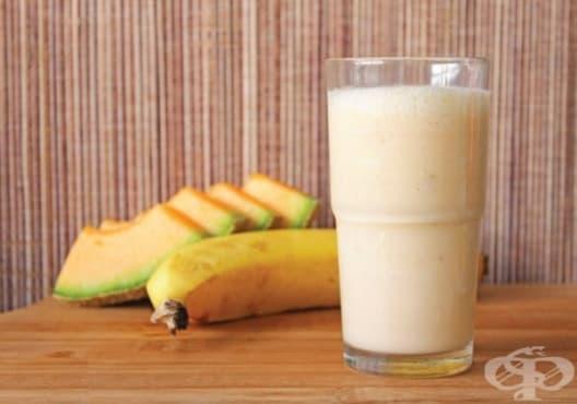 Понижете нивата на холестерол с напитка от пъпеш и банан - изображение