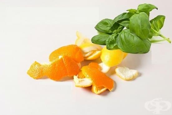 Избелете зъбите си с паста от босилек и портокалови кори - изображение