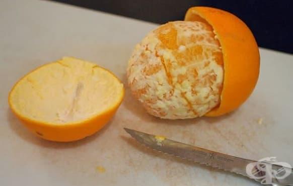Освежете хладилника с дезодорант от цитрусова кора - изображение