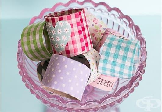 Направете си поставки за яйца от ролки кухненска или тоалетна хартия - изображение