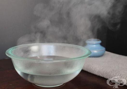 Правете инхалации с мента и евкалипт срещу синузит - изображение