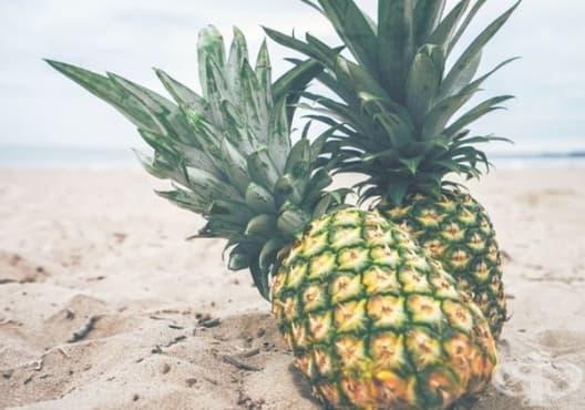 Правете компреси от ананас срещу синини - изображение