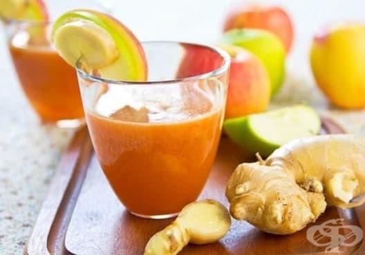 Преборете умората с напитка от ябълка и морков - изображение