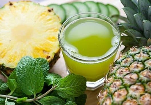 Пречистете бъбреците с напитка от магданоз и ананас - изображение