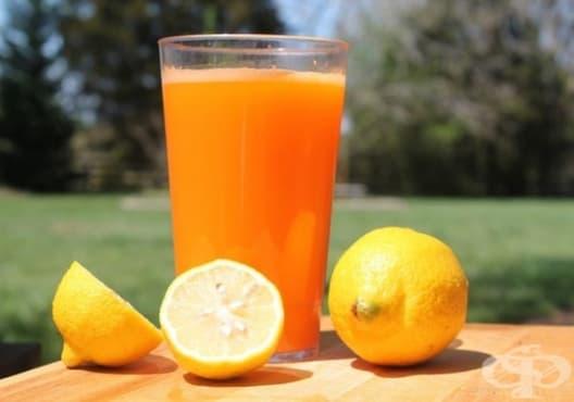 Пречистете бъбреците със сок от краставица, морков и лимон - изображение