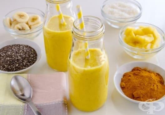 Пречистете черния дроб с напитка от банан и куркума - изображение