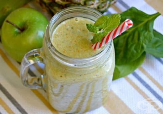 Пречистете стомашно-чревния тракт с напитка от ябълка, портокал и ананас - изображение