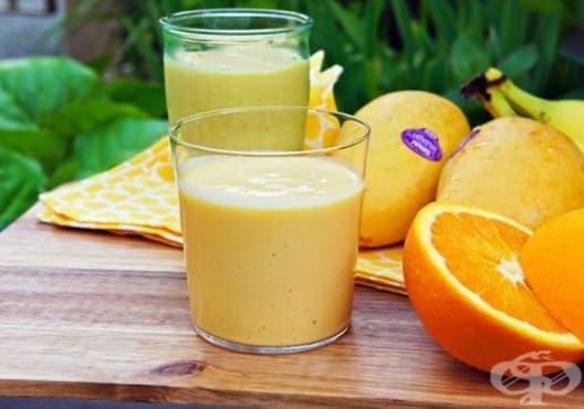 Предотвратете мускулните крампи с напитка от кисело мляко, банан и портокал - изображение