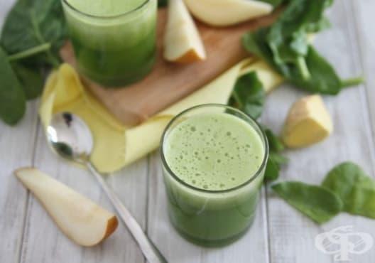 Предотвратете появата на атеросклероза с напитка от круша и спанак - изображение