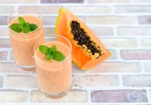 Предотвратете задържането на излишни течности с напитка от ананас, папая и ленено семе - изображение