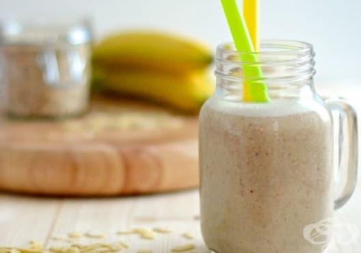 Предотвратете задържането на течности с напитка от банан, портокал и овесени ядки - изображение
