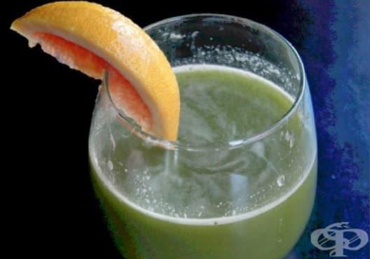 Предотвратете задържането на течности с напитка от грейпфрут и целина - изображение