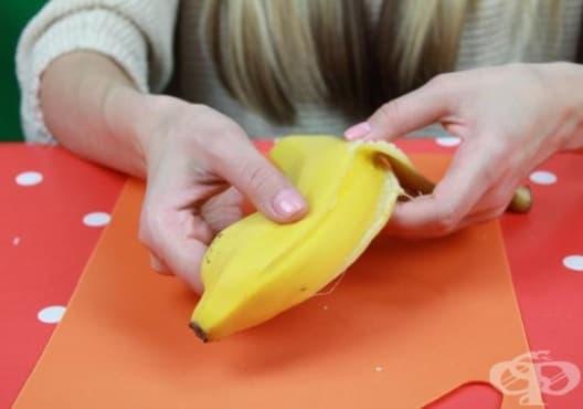 Премахнете акнето с бананова кора - изображение