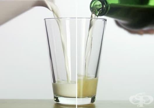 Премахнете пърхота с мляко и бира - изображение