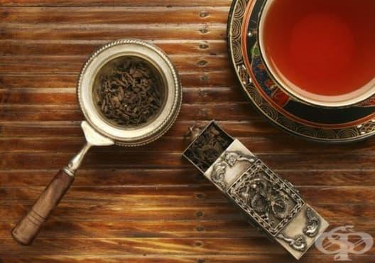 Премахнете лошия дъх с черен чай - изображение