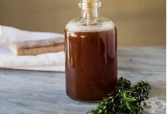 Направете си препарат за миене на съдове с аромат на розмарин  - изображение