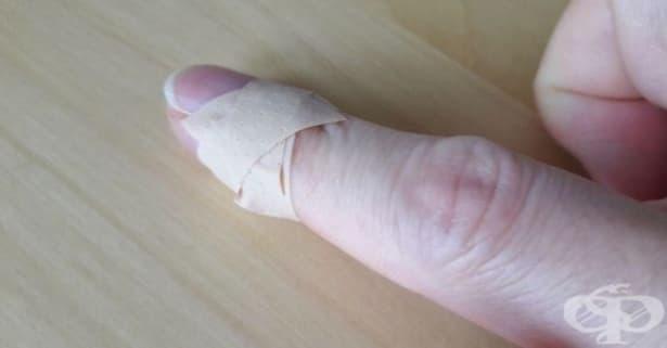 Предотвратете разлепването на лейкопласта с този лесен трик - изображение